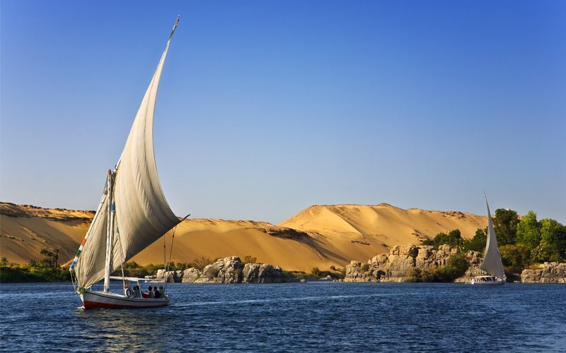 Day 5: Felucca cruise on the Nile