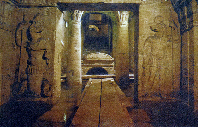 Catacombs of Kom El Shokafa